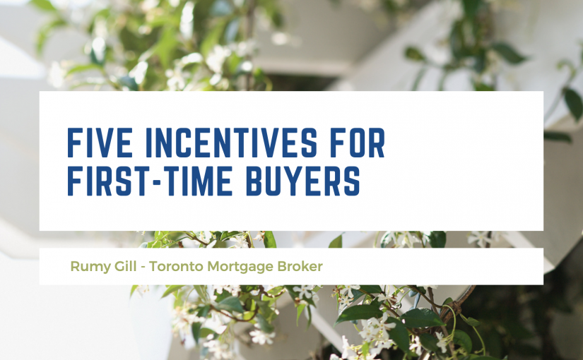 Five Incentives for First-Time Buyers