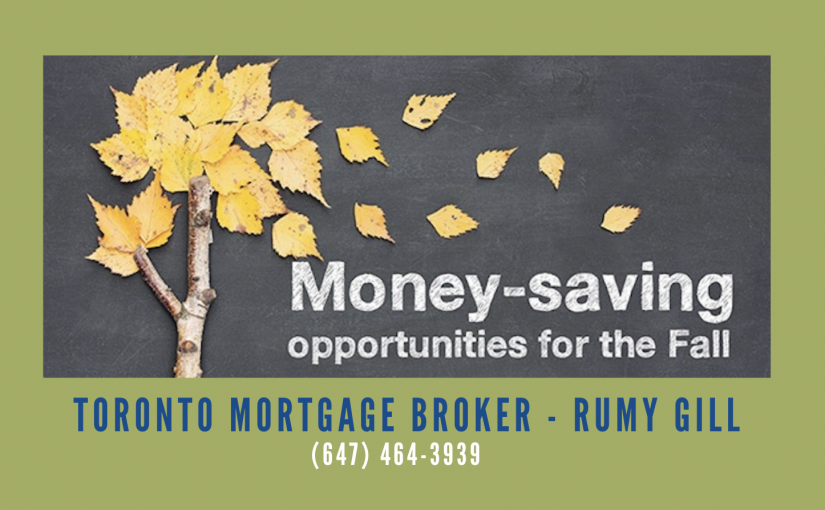 Money-Saving Opportunities for the Fall Season