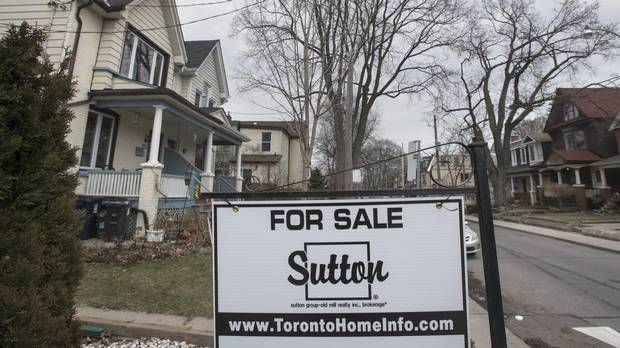 Toronto's Real Estate Market sees shift away from earlier Frenzy