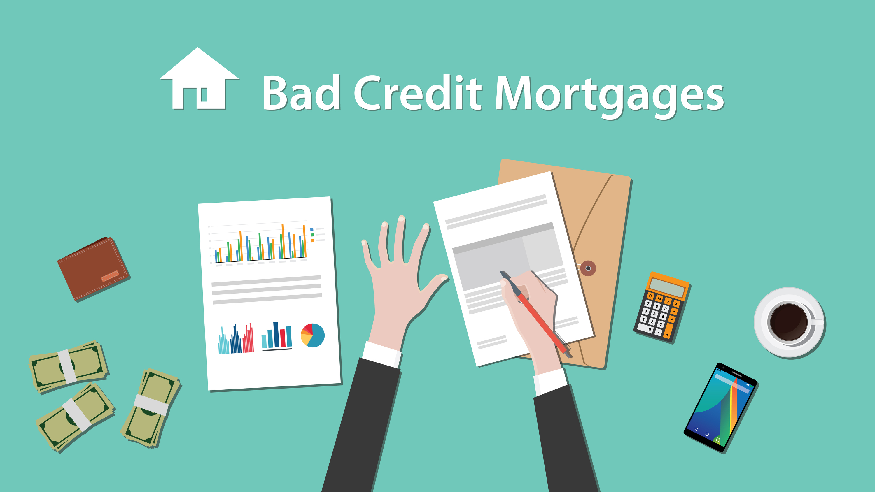 how to get second mortgage with bad credit