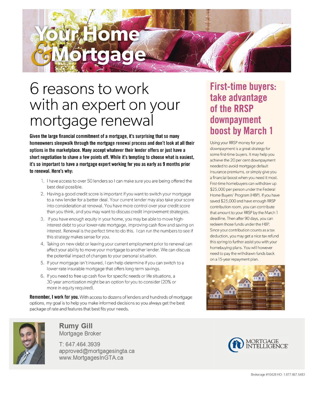 Mortgage Renewal - Mortgage Broker